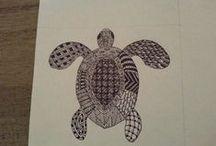 Zentangle / fancy doodles