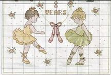 Cross stitch - ballet