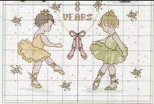 Cross stitch - ballet
