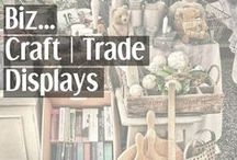 Biz → Craft|Trade Displays / Get ideas and inspiration from this trade show & craft fair display board. Use them to inject the look at me factor into handmade business when you go to exhibit your handmade products at a craft fair.