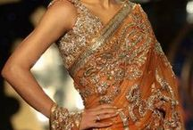 Sari's/Lehengas  are beautiful / Lovely sarees and lehengas to wear! / by Vanessa Pugh