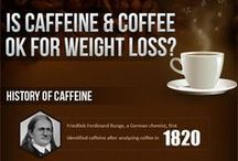 Caffeine Infographics / Learn more about caffeine, checking out some other sources which contain this substance. These infographics give an insight into caffeine with cons, pros and other interesting facts.