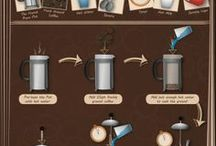 Making Coffee Infographics / Make different types of coffee in a unique way that only infographics can show you.