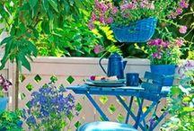 Gardens Indoor&Outdoor / Angoli di #Giardini interni ed esterni che ci piacciono  #garden indoor & outdoor