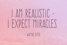 INSPIRATIONAL QUOTES / Daily Inspiration quotes, law of attraction,and positive thinking. Helpful tips to help you attract abundance, health and happiness.