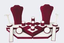 Vetrine / vetrine con accessori gioiellerie