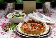 Vegetarian food / Yummy Veggie Recipes from Our 600 Blogs! // Ideoita kasvisruokaan 600 blogin kattauksesta!