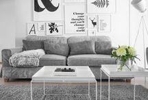 Living room / Ideoita olohuoneeseen 500 upean blogin joukosta!