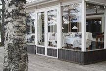 Cottage / Life in the Summer Cottage from Our 600 Blogs! Mökkielämää ja ideoita sisustukseen 600 blogin joukosta!