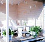 Terrace / Ideas for Your Terrace from Our 600 Blogs! // Ideoita terassiin 600 blogin kattauksesta!