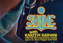 Kareem Raïhani / Through music & dance we embrace ancient, present & future, acoustics & electronics, tribal & urban, hi-tech and roots. Connecting with the Self, Mother Earth and the Universe, the dancer becomes the dance.