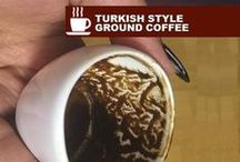 Coffee cup reading / Fortune telling from coffee grounds that are left in demitasse cups of Turkish style coffee. Detailed explanation, cup division, coffee symbol interpretation at my site http://www.turkishstylegroundcoffee.com/turkish-coffee-reading/