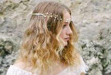 -Couronnes- / Couronnes de fleurs pour la mariée, accessoires de tête mariage bohème, boho wedding hair accessories for bride and elegant women