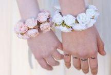 -Bracelets- / Bracelets pour mariée, accessoires mariage fleurs, bangles and other wedding accessories