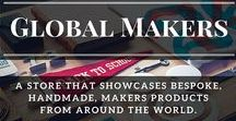 Global Makers Store / Global Makers GROUP BOARD showcases handmade products created by makers, designers, from around the world.  ▶GUIDELINES◀  ✺ TO JOIN Follow me (not just this board) ✺-> COMMENT on a pin on this board or MESSAGE me via Pinterest ✺ then INVITE fellow makers & designers ♥ Please use clear sharp images only.  NO SPAM | ONLY HANDMADE ITEMS | NO DUPLICATE IMAGES | Respect each other - Blessing Janet