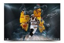 LeBron James Authentic Memorabilia / LeBron James is undoubtedly one of the most electrifying players in the NBA today. He has been ranked as one of America's most popular and influential athletes. LeBron's athleticism on the court amazes spectators while his dominant personality and bold image make him an exciting athlete to follow.