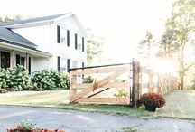 TheWhiteFarmhouseBlog / Photos from our home.  We remodeled my husbands grandparent's home built in 1861