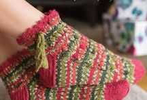 Christmas Makes / Christmas crafts: knitting patterns, crochet patterns, and inspiration.