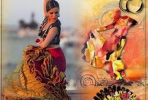 Flamenco by PerlineDesign / #PerlineDesign