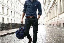 MEN'S STYLE / Men's fashion, men's style, classy, modern gentlemen, j. Crew, casual look