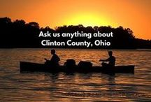 Clinton County Convenion & Visitors Bureau (CVB) / Images associated directly with the Convention & Visitors Bureau for Clinton County in Southwestern Ohio. http://www.clintoncountyohio.com/