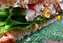 Panes, masas, bocadillos, sandwiches...