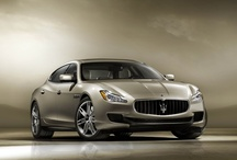 """2013 Maserati Quattroporte / According to Car & Driver, """"The fifth generation Quattroporte reeks of presence, individuality, classy conservatism, & drive-me desirability.""""  """"We're not big fans of calling cars """"sexy"""" but if any car deserves the designation, it's those produced by Maserati."""""""