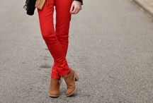How to Wear: Red Pants