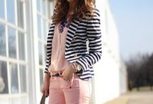How to Wear: Striped Jacket
