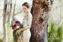 wedding in a boho or a country chic style