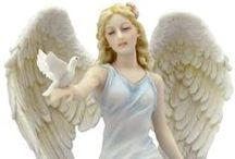 Angelic Visions / Surround yourself with angels... here's a heavenly collection of gift ideas, figurines & collectibles, crafts and more, all angel-themed!