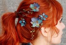 Fashion - Hair and Coverings / Hair tips, covers, styles, and accessories