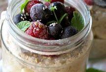 Overnight oats + other breakfast ideas