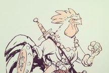 Characters / by Evon Binns