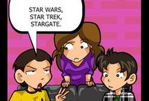 May The Triforce Be With You / Stargate. Star Trek. Star Wars
