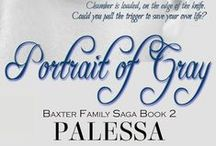 Book: Portrait of Gray, Baxter Family Saga 2 / There are a few unanswered questions in #UnchainedHearts. The biggest one is Grayson Baxter. Steeped in drugs, it takes a tragic near miss for him to finally straighten his life out. He gets what many don't get a second chance at living and he takes full advantage. But with love comes loss and maybe a little redemption. #secondchance #romance #suspense #drama