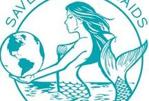 Live Green. Save Mermaids / reducing waste and helping keep the planet healthy