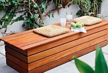 Outdoor Timber Benches