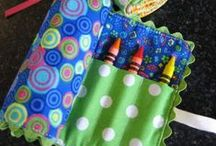 Fabric & Sewing / from gifts to clothes to getting organized, sewing ideas for scrap fabric