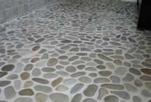 Zen Paradise Natural Pebble Tile Installations  / Zen Paradise ~ Natural Pebble, Sliced Pebble, Onyx, Marble, Basalt Tiles.  Discover amazing Eco-friendly products and beautiful designs. Get inspired and create your very own Zen Paradise!  http://www.zenparadise.net/  http://www.zenparadise.net/zen-paradise-installation