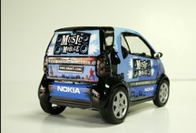 Miniature / Model / Vehicle wraps on miniature model versions of vehicle for promotional purposes. / by AutoSkin by decently exposed