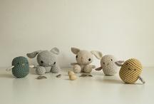 Crochet, amigurumi & knitted toys