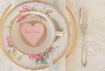 Vintage Tea Party / All things gorgeous, pretty and delectable. Creating a beautiful tea party.