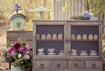 Vintage Dessert Tables / Inspiration for fabulously styled dessert tables with a vintage twist.  Sharing the love x