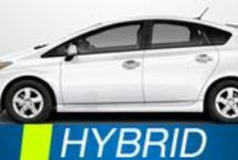 Hybrid Rentals / The awesome hybrids available to rent from MPG Car Rentals All Green Fleet!