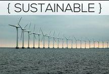 Sustainability / Steps toward leading a sustainable lifestyle!
