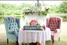 Vintage Wedding ideas / Planning ahead!! With six beautiful daughters, I am rubbing my hands in glee at the thought of all those glorious weddings!  / by Mama Bear