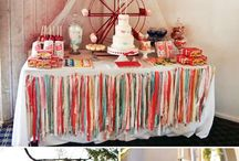 Beautiful buntings, backdrops, banners and gorgeous garlands. / Simply stylish ideas for giving your next party that inexpensive'WOW!' factor.