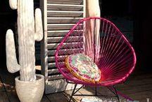 S U M M E R - S E T /  ACAPULCO CHAIR - DESIGNKLASSIKER AUS MEXIKO  *Der Acapulco Chair von VIVA MEXICO ist ein hochwertiges Originalprodukt. Er wird in Handarbeit in einer kleinen Fabrik in Mexiko hergestellt. Das Original unterscheidet sich von herkömmlichen Modellen in Form, Qualität* und Sitzkomfort.  www.mexico-chair.com