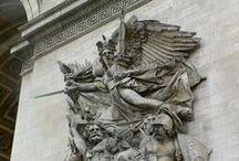 Sochařství Romantismu v Evropě / - velmi málo výtvorů - styl a zobrazení v klasických formách, mění se náměty : historické, dramaticé pojetí